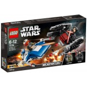 Lego Star Wars 75196 - A-Wing Contro Microfighter Tie Silencer