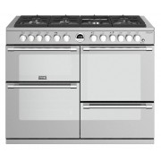 Stoves Sterling Deluxe S1100 Stainless Steel 110cm Dual Fuel Range Cooker