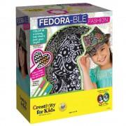 Set creatie copii FABER-CASTELL Palarie Fedora, FC001264