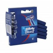 Gillette Blue II 5 ks holicí strojek M
