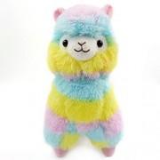 Alpaca Plush Toy, Staron Colorful Rainbow Alpaca Llama Soft Baby Stuffed Animal Plush Puppet Doll Toys Gift for Birthday / Christmas / Valentine's Day / Wedding Anniversary, 18cm (Animals Alpaca)