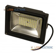 Faretto a Led Professionale Luce Bianca 30W 2400lm 60xSMD5730 12VDC