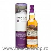 Single Malt Scotch Whisky Tomintoul 10 ani 700ml in cutie