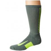 Nike Elite Running Cushion Crew Socks Clay GreenVolt