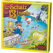 HABA The Treasure of the 13 Islands - A Daring Adventure Game for 6 and Up (Made in Germany)