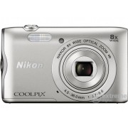 Aparat foto Nikon Coolpix A300, argintiu