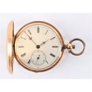 Zlaté kapesní hodinky G. Monard