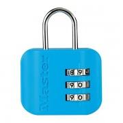 Visací zámek pro zavazadla 4670EURDCOL - Master Lock - modrý