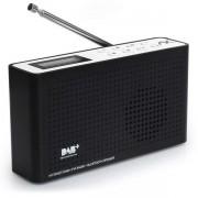AX Technology Anadol IDR-1 Internet Radio DAB+ FM-UKW Bluetooth Lautsprecher tragbar mit Akku Wlan LCD Schwarz