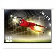 FrontStage Ecran de projection déroulant Home Cinema Projecteur HDTV 240x180 cm 4:3