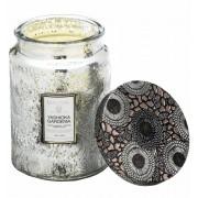Voluspa Large Glass Jar Candle Yashioka Gardenia