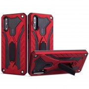 Funda Case Para Huawei P20 (No Pro) Uso Rudo IronMan - Rojo