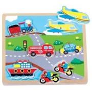 Puzzle Transport Cu Sunete