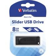 USB Flash 8GB 2.0 Verbatim, do 10MB/s 98695
