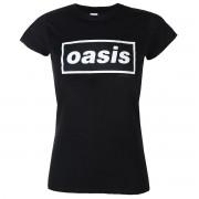 t-shirt metal donna Oasis - Decca Logo - NNM - RTOASGSBDEC