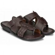 Drake Men's Dark Brown Slip On Sandals