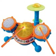 Vtech - KIDIBEATS LEARNING DRUM SET - Learn to the Beat of the Music! TEACHES: Letters