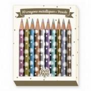 Creioane metalice Djeco, Chichi
