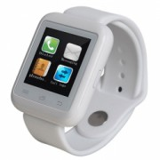 Smartwatch iUni U900i Plus Bluetooth LCD 1.44 Inch Alb Bonus Bratara Roca Vulcanica unisex