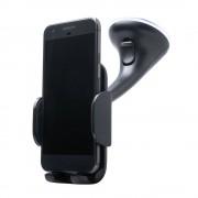 Shop4 - Samsung Galaxy A6 Plus (2018) Autohouder Instelbare Raamhouder Zwart
