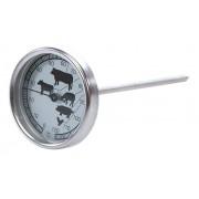 Termometru de gatire cu sonda si cadran