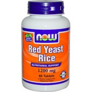 Now Red Yeast Rice 1200mg 60 comprimidos