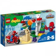 Конструктор ЛЕГО ДУПЛО - Приключенията на Spider-Man и Hulk, LEGO DUPLO Super Heroes, 10876