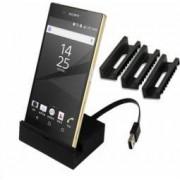 Stand dock/incarcare OEM magnetic de birou pentru Sony Xperia Z5Z5 compact DK55 Negru