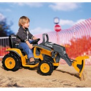 Excavator Deere Construction Loader Peg Perego