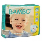 BAMBO - Training Pants Maxi Plus - 14 kg et plus - 20 langes culottes