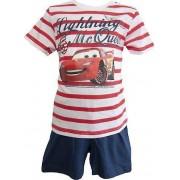 Disney Cars Boys Shortie Pyjamas Stripes Red 8 Years / 128 cm