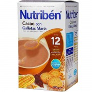 Nutriben Cereales Cacao Galletas Maria 600 g