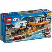 Lego city unità di risposta con il fuoristrada 4x4