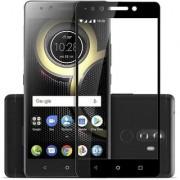 TechGear Edge To Edge Tempered Glass for LENOVO K8 PLUS (Black)