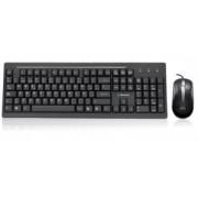 Kit de Teclado y Mouse Acteck WKTE-005, USB, Negro