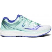 Saucony Triumph Iso 4 W - scarpe running neutre - donna - White/Blue