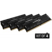 Memorii Kingston HyperX Predator Black Series DDR4, 4x4GB, 3000 MHz, CL 15