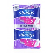 Always Absorbante Duo Pack 14 buc S2 Ultra Super Plus