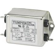 Filtru de retea 250 V/AC Yunpen, YE05T1, 2 x 5 mH, 5 A