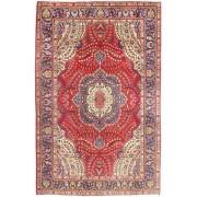 RugVista Täbriz Teppich 197X299 Echter Orientalischer Handgeknüpfter Braun/Rost/Rot (Wolle, Persien/Iran)