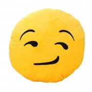 Asquint Smiley Cushion looking with Side Eyes