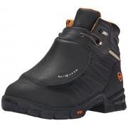 Timberland Botas de Trabajo para Hombre Pro Excave con Met Guard Externo, Negro, Cuero (Black Split Leather), 8 US