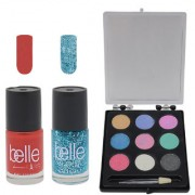 Set of 1 Eyeshadow +2 Nail paints