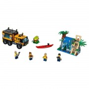 Lego city jungle explorers laboratorio mobile nella giungla 60160