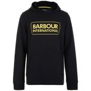 Barbour Boys large logo hoodie