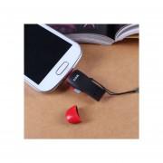 SSK SCRS600 OTG portátil USB y Micro USB Plug (Negro)