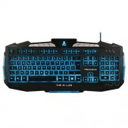 The G-Lab Teclado The G-Lab Keyz200/sp Usb Negro