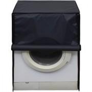 Glassiano Dark Gray Waterproof Dustproof Washing Machine Cover For Front Load 8.5Kg Model