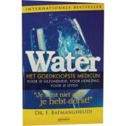 Succesboeken Water - het goedkoopste medicijn