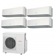 General Fujitsu Fujitsu Condizionatore 4 x ASYG07LMCE AOYG30LAT4 Quadri Split Serie ASYG-LMCE 7+7+7+7 Btu Sostituisce Serie LMCA